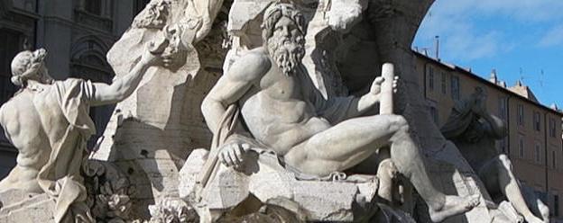 fontaine des Quatre Fleuves