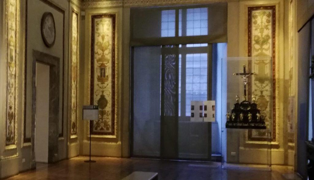 fresques de Vassari au palais Venise