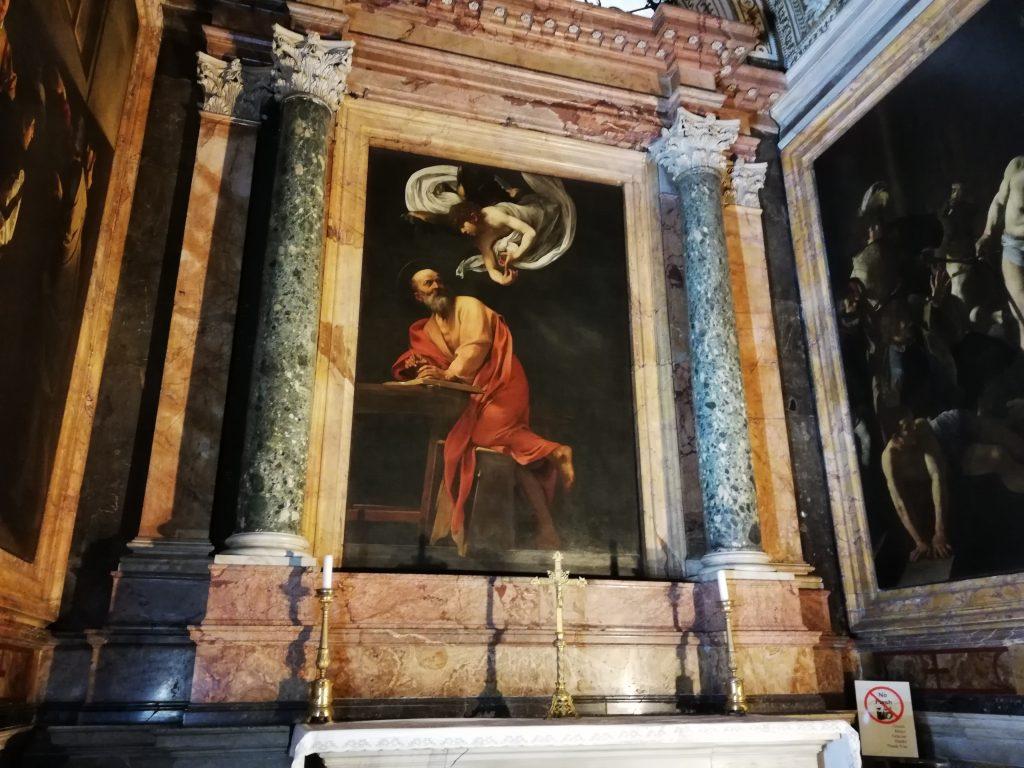 Chapelle Contarelli dans l'église de saint Louis des français