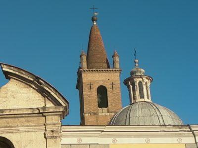 Visite de l'église de sainte Marie du Peuple