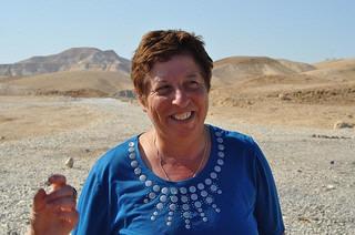 Edith guide d'Israel de la terre sainte et de Jérusalem