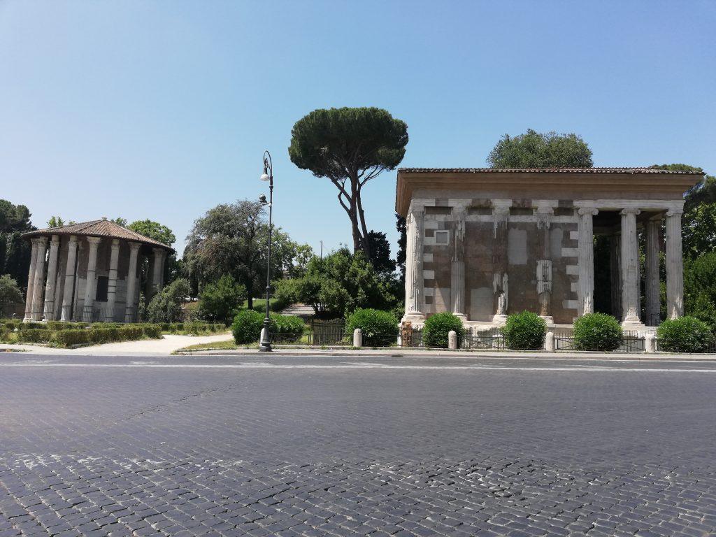 Vélabre temples de Portunus et Hercules