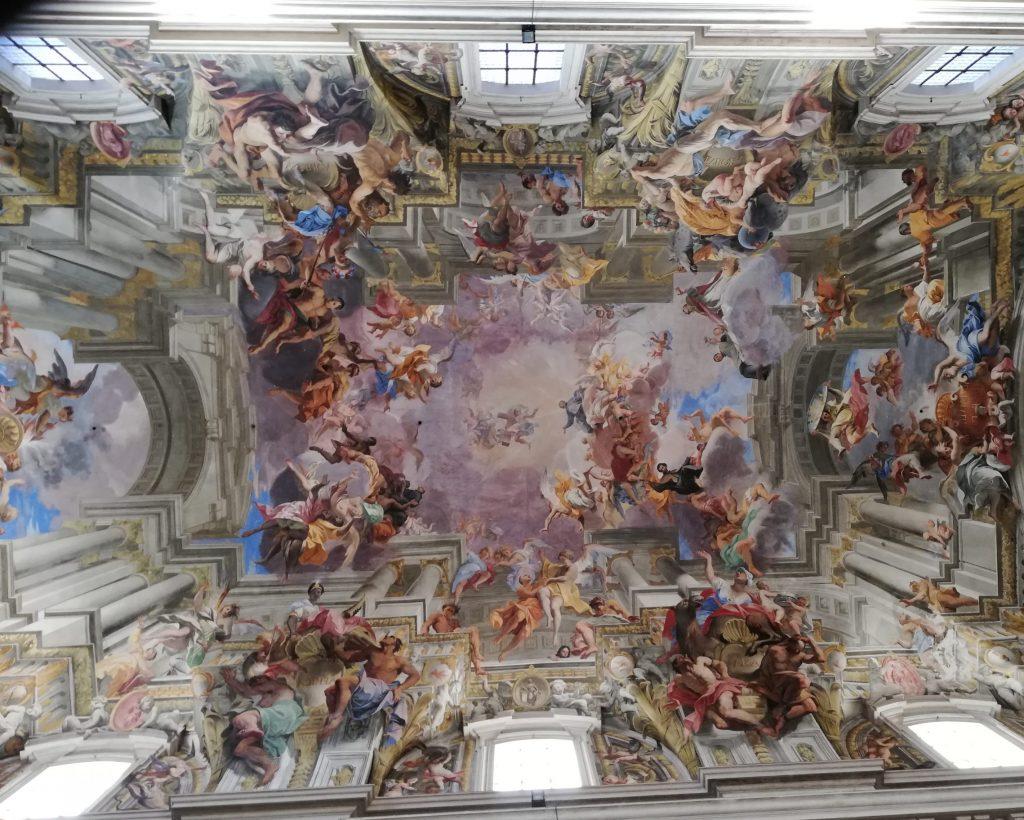 plafond de église de saint Ignace