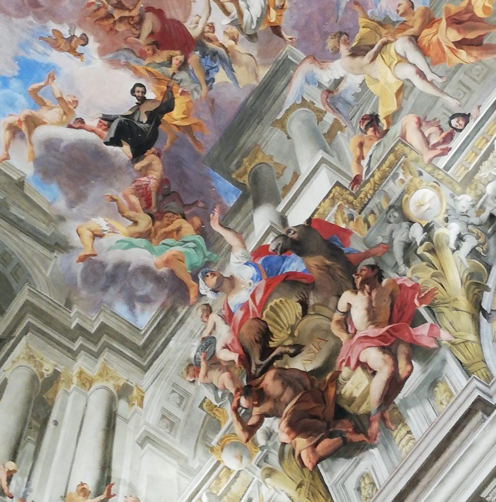 Visite des artistes célèbres à Rome
