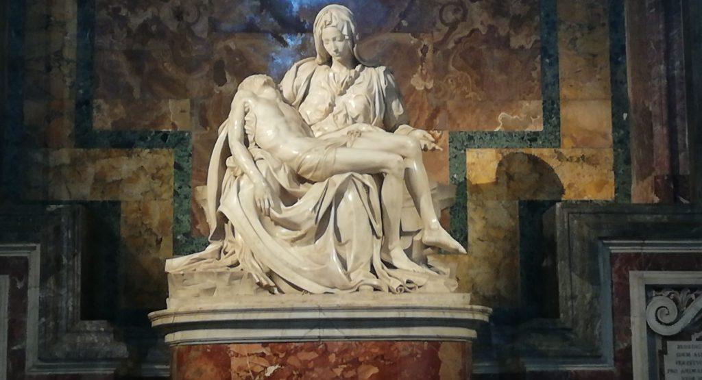 oeuvre de Michel Ange à Rome