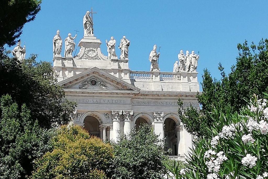 visite des basiliques majeures saint Jean de Latran