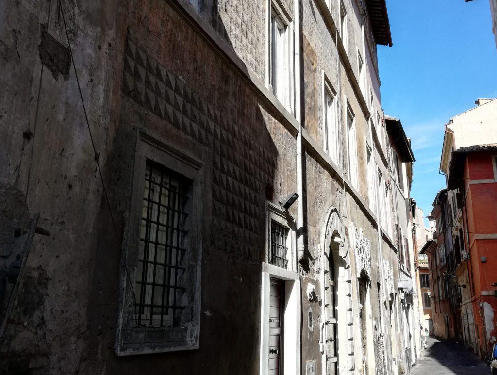 Rome palais peint