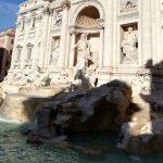 visite de la Rome baroque la fontaine de Trevi