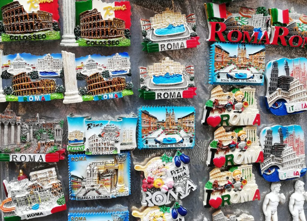 shopping à Rome