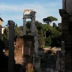 temple d'Apollon vu du portique d'Octavie