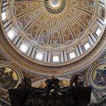 couple de Michel Ange ange dans la basilique de saint Pierre