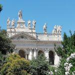 façade de la basilique de saint Jean de Latran