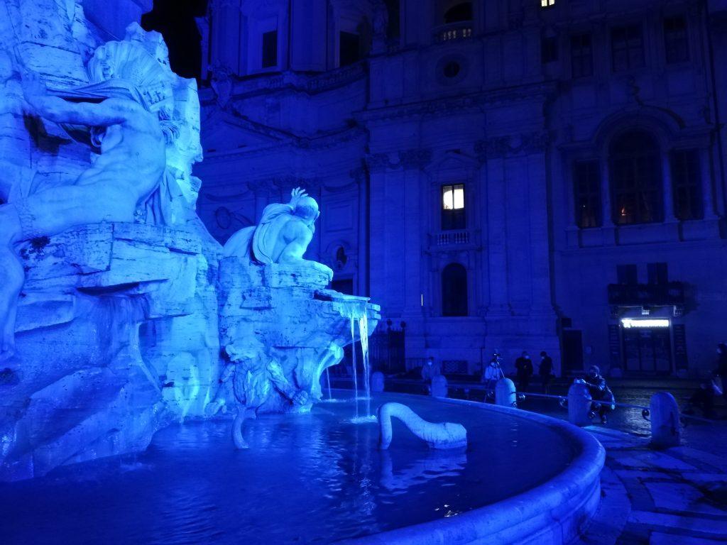 Rome illuminée place Navone
