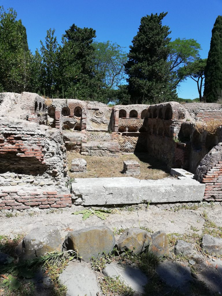 la synagogue de Ostie Antique