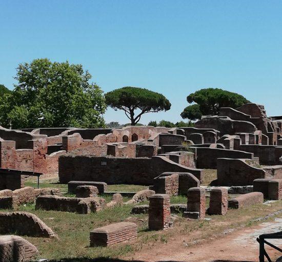la Synagogue de Ostia Antique