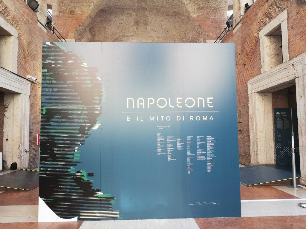 exposition Bonaparte Rome marché de Trajan