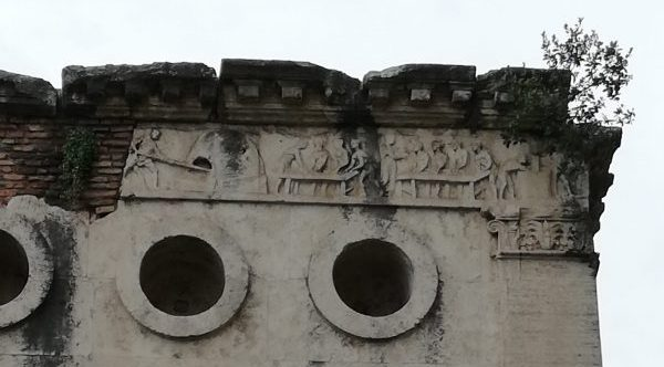 le tombeau d'Eurysace