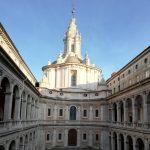 église de saint Ives à la Sapienza de Borromini