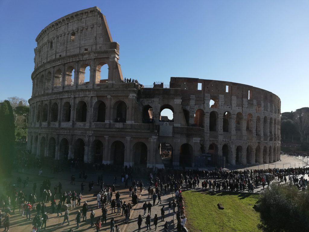 Visite du Colisée