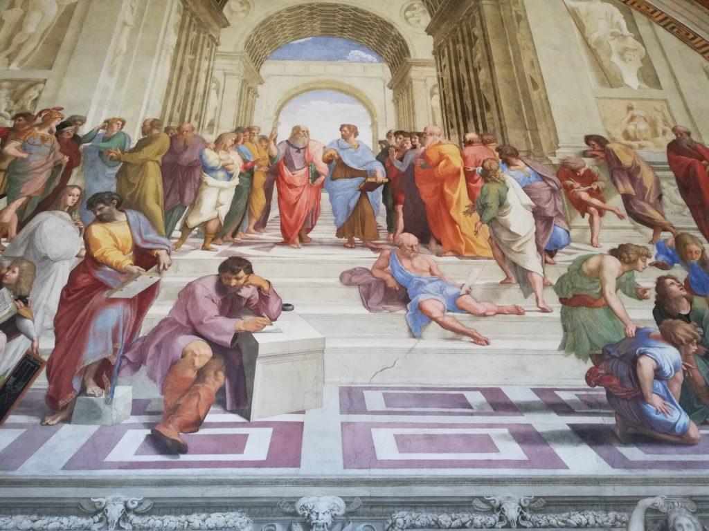 Visites des peintures aux musées du Vatican