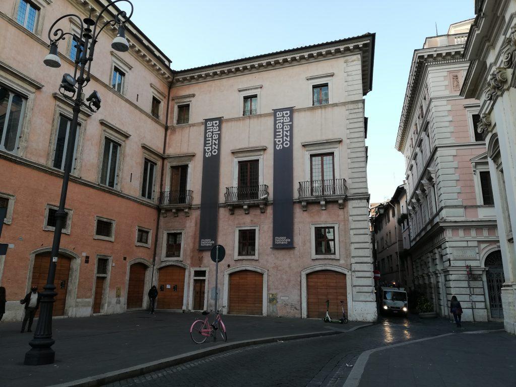 Visite des collections antiques du palais Altemps