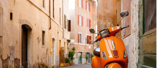 Transports à Rome