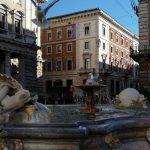 piazza Colonna et rue du Corso