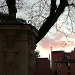 couché du soleil à Rome