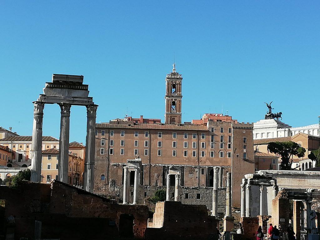 forum romain vu du Palatin