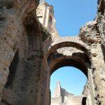 ruines du palais Impérial sur le Palatin