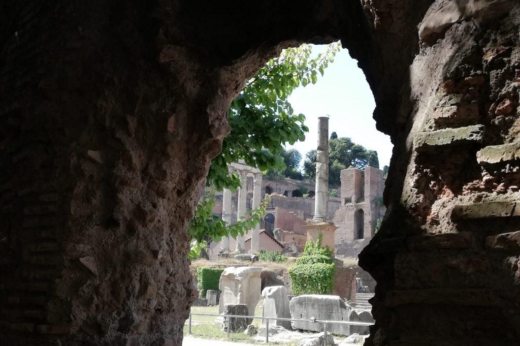 basilique Eminienne vue sur le forum romain