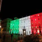 Rome illuminée place Colonna