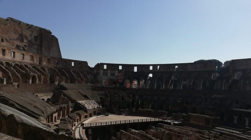 Colisée de Rome film le gladiateur