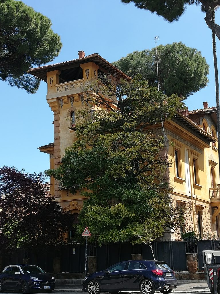 villa du quartier Coppedè